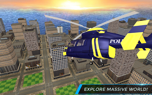 Real City Police Helicopter Games: Rescue Missions 4.0 screenshots 6