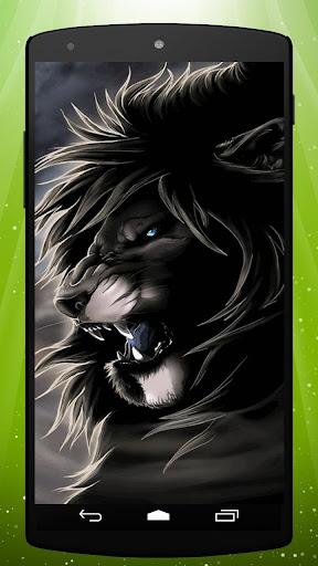 Fierce Lion Live Wallpaper
