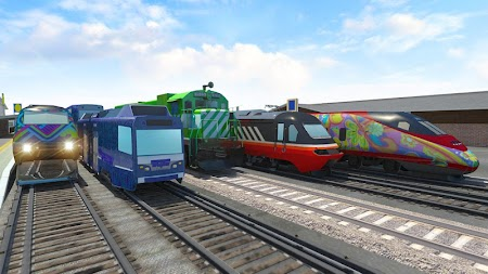 Train Driving - Train Sim APK screenshot thumbnail 4