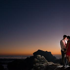 Lovely Evening by Yansen Setiawan - Wedding Old - Engagement ( cali, silhouette, losangeles, award, sweetheart, beach, blog, romance, city, love, prewedding, d800, lifestyle, photographer, siluet, nikon, fine, mindblowing, classic, editorial, creative, vintage, art, romantic, lovebirds, illusion, destination, winning, fineart, yansensetiawanphotography, wedding, sunset, la, yansensetiawan, yansen, engagement, unseen )