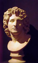 Photo: Troy - Alexander, copy from Museo Capitolino .......... Alexander, kopie uit het Museo Capitolino