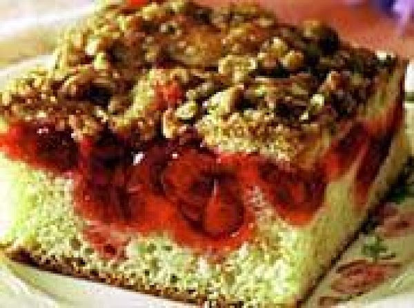 Cherry Coffeecake Recipe