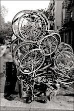 Photo: bicycle man