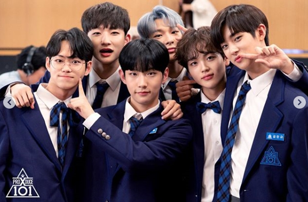 produce x 101 trainees