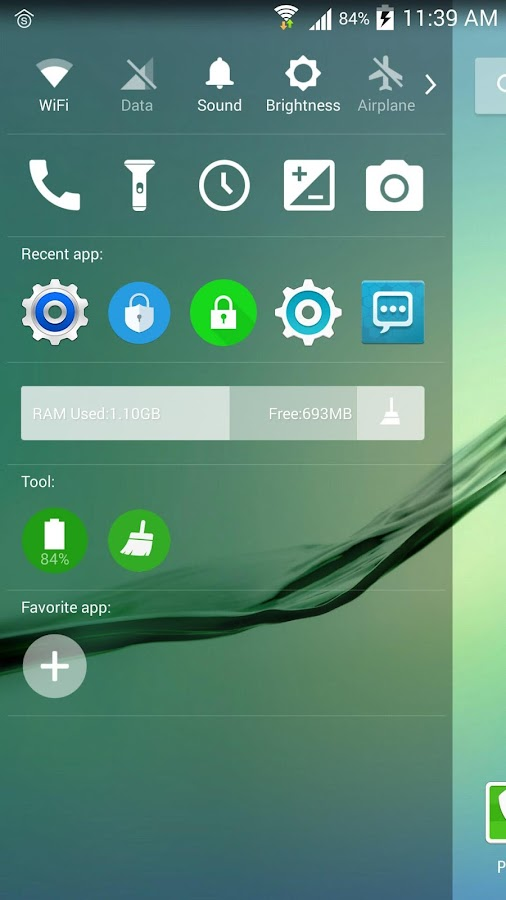 SO Launcher (galaxy launcher)- tangkapan layar