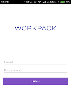 Workpack App- screenshot thumbnail