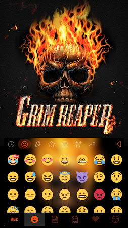 Grim ReaperKika Emoji Keyboard 23.0 screenshot 1894773