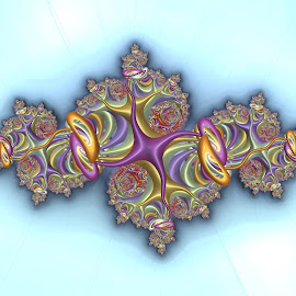 Fractal design 4 by Cassy 67 - Illustration Abstract & Patterns ( digital, harmony, abstract art, fractal art, abstract, digital art, fractals, fractal design, classic, modern, light, fractal, mandelbrot, timeless, energy )