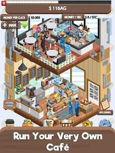 Idle Cafe Tycoon – My Own Clicker Tap Coffee Shop 1