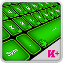 Keyboard Plus Weed HD icon