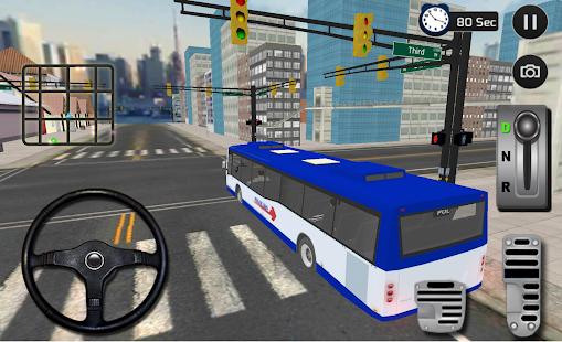 policie bus policie přepravce - náhled