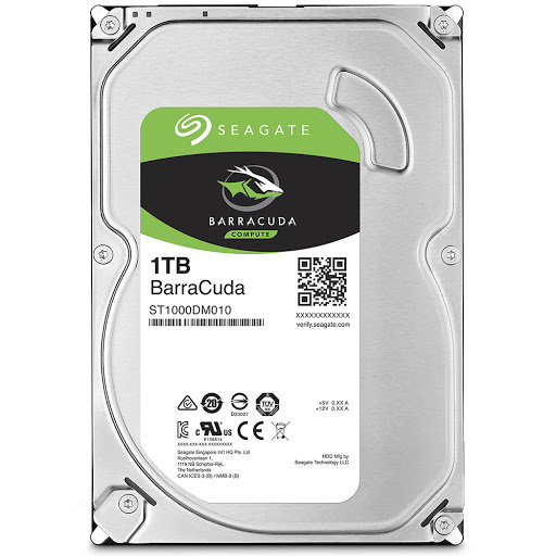 Ổ cứng HDD PC Seagate Barracuda 1TB 3.5