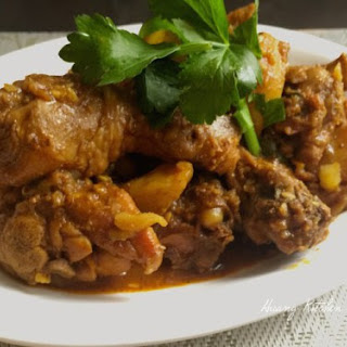 Indian Style Chicken Curry.