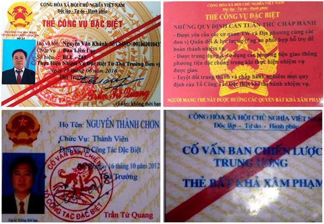 Description: nguoi dung the bat kha xam pham, the cong vu dac biet se bi tam giu hinh anh 1