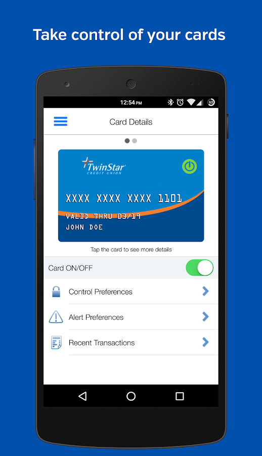 TwinStar Card Manager- screenshot