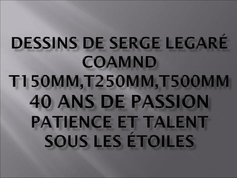 Dessins de Serge Légaré