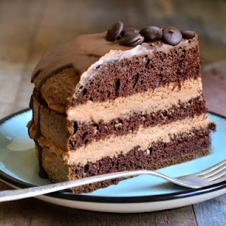 Frosted Coffee Chocolate Cake