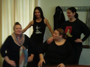 Photo: Matilde Coral, Rocio Coral, Carmen Acosta i Małgorzata Matuszewska - zakończenie kursu w Jerez