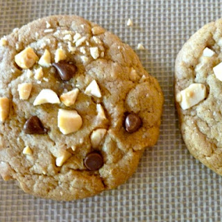 Weight Watchers Chocolate Chip Cookies with Salted Peanuts Recipe