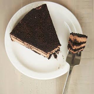 Icebox Chocolate Cheesecake.