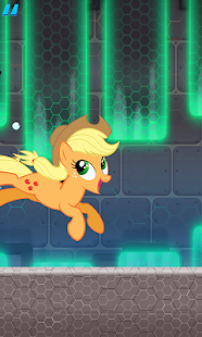Super Pony avoid obstacle - náhled