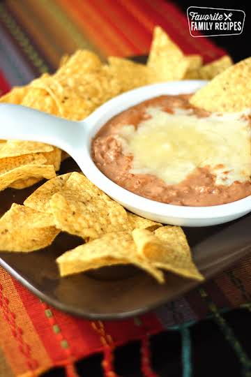 Cheater Restaurant Style Refried Beans