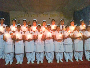Photo: Candle Light at the Nurses Capping Ceremony