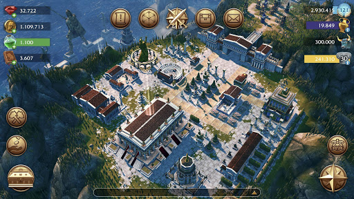 Olympus Rising: Tower Defense and Greek Gods apkpoly screenshots 7