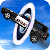US Police Car Driving Crime City Transform Race 3D
