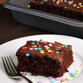 Low Fat Chocolate Cake.