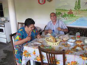 Photo: Armenien: Garni: Einladung zum Essen