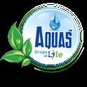Aquas premium drinking water icon