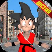Super Son Goku Saiyan Z Battle