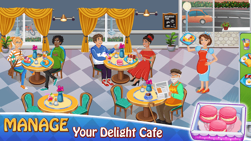 Cooking Delight Cafe- Tasty Chef Restaurant Games 1.6 screenshots 5