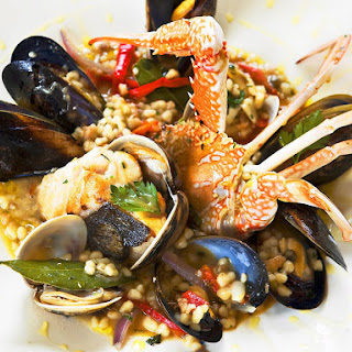 Sardinian Seafood Couscous.