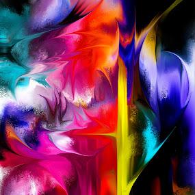 Täuschung by Glen Sande - Painting All Painting ( abstract, modern, deception, abstract art, contemporary, fine art, glen sande )