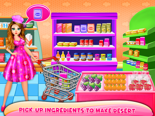 Cake Maker Sweet Food Chef Dessert Cooking Game 1.0 screenshots 2