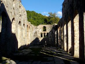 Photo: Butrint - Great Byzantine Basilica 6th-7th century AD