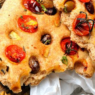 Mediterranean Herb Focaccia Bread Recipes