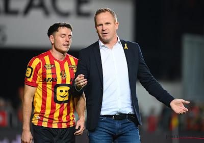 Wouter Vrancken et Francky Dury satisfaits après Malines - Zulte