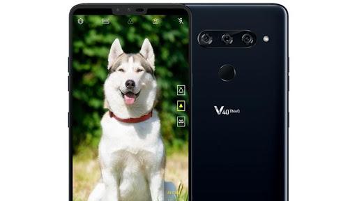 The new LG V40 ThinQ.