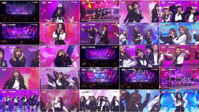 181114 IZONE Part - MBC Show Champion