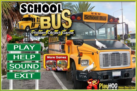 Challenge #228 School Bus Free Hidden Object Games - náhled