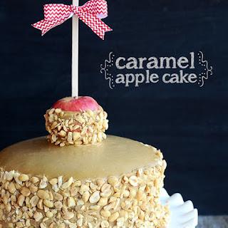 Caramel Apple Cake!