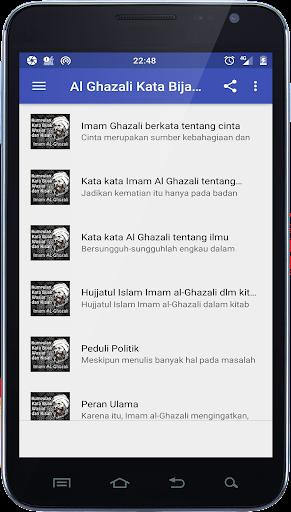 Download Al Ghazali Kata Bijak Wasiat Dan Kisah Google Play