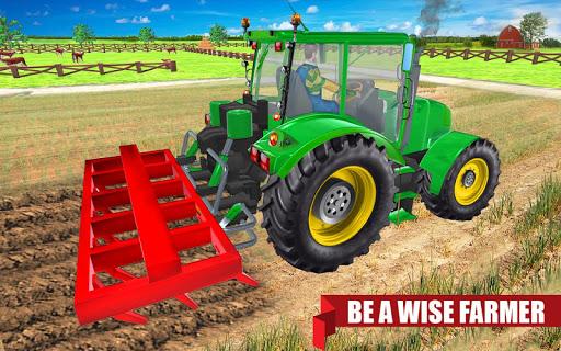 Real Tractor Farmer games 2019 : Farming Games new  screenshots 1