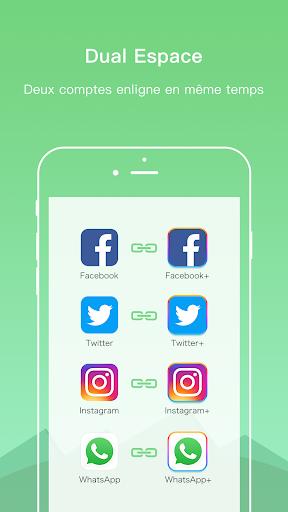 Dual Space - Plusieurs Comptes et APP Parallèle screenshot 2