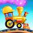 Train Games for Kids: station & railway building logo