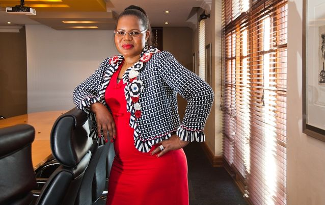 Philisiwe Mthethwa , CEO National Empowerment Fund. Picture: WALDO SWIEGERS/ SUNDAY TIMES