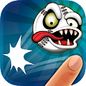 Flick Baseball - Zombies Home Run icon